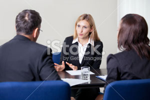 Picture of a legal consultation