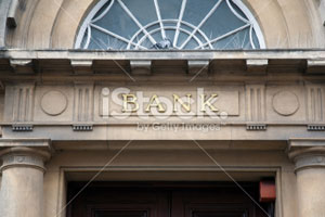 Picture of a bank building