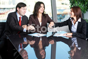 Picture of a mediation