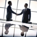 Picture of a business agreement